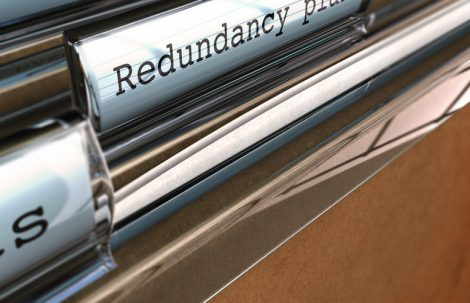 Redundancies – downturn in business